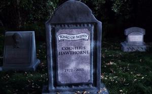 Cornelius Hawthorne's tombstone