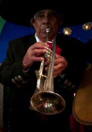 Señor Kevin's Trumpeteer