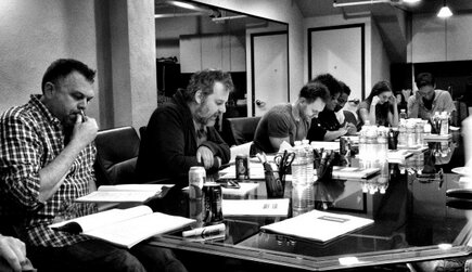 File:Season Five table read.jpg