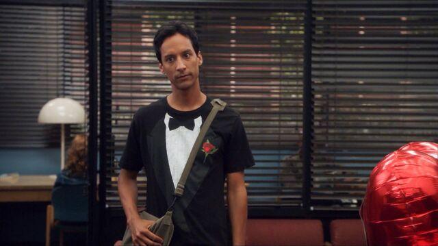 File:2x1 Abed tuxedo t-shirt.jpg