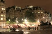 Trafalgar square night small