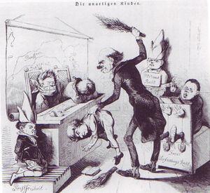 Freedom of speech caricature