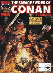 Savage Sword of Conan Vol 1 197