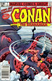 Conan the Barbarian Annual Vol 1 7