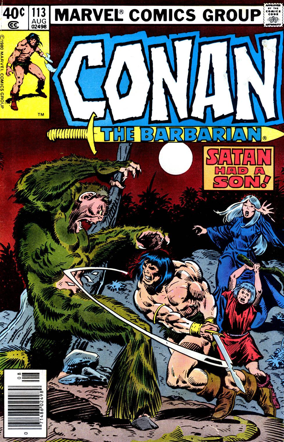 Conan the Barbarian 113   Conan Wiki   FANDOM powered by Wikia
