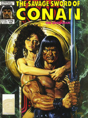 Savage Sword of Conan Vol 1 170