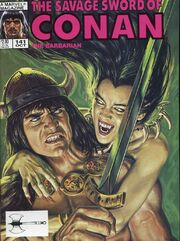 Savage Sword of Conan Vol 1 141