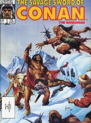 Savage Sword of Conan Vol 1 132