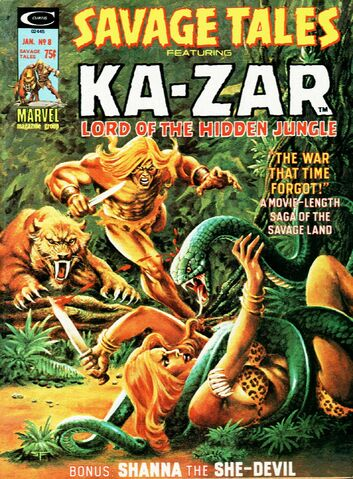 File:Savage Tales 8 Jan. 1, 1975.jpg