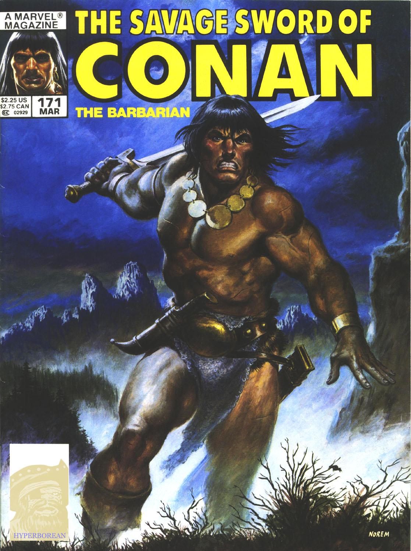 savage sword of conan 171
