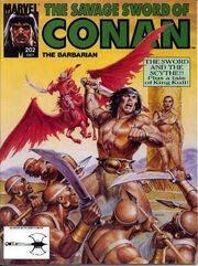 Savage Sword of Conan Vol 1 202