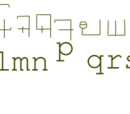 Saimensh alphabet