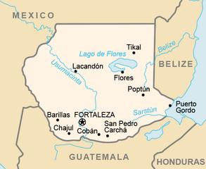 San Lorenzo-CIA WFB Map