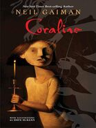 Coraline book by Neil Gaiman