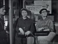 Minnie and martha on bus