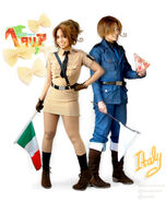 Italy and North Italy by QuantumDestiny
