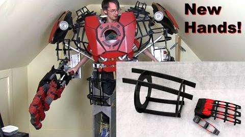XRobots - Iron Man Hulkbuster Cosplay Part 27, New Hands & Forearms