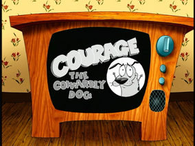 Courage the cowardly dog intertitle