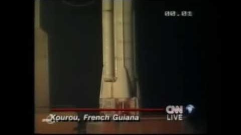 Ariane 4 launch (Hot Bird 4)