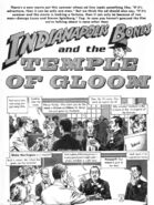 Indianapolis Bones and the Temple of Gloom