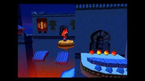 Flaming Passion - Clear Green Gem - Crash Bandicoot 3 Warped - 105% Playthrough (Part 24)