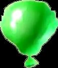 Crash Bash Green Balloon
