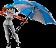 Crash Team Racing Megumi Bandicoot