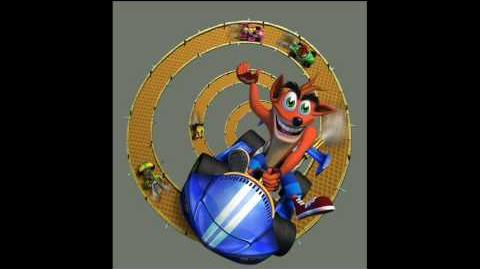 Crash Nitro Kart - Crash Bandicoot taunts