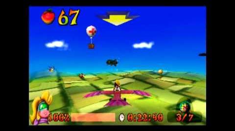 Bye Bye Blimps - Platinum Relic - Crash Bandicoot 3 Warped - 105% Playthrough (Part 48)