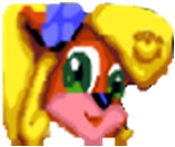 Coco Bandicoot CTR Icon