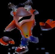 Crash Bandicoot 2 Cortex Strikes Back Crash Bandicoot Crushed