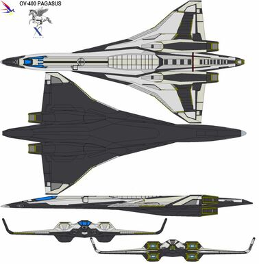 Shuttle pegasus ov400