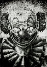 Bw clown