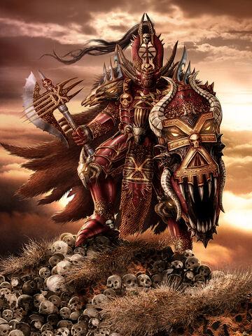 File:Chaos Khorne Lord by Kseronarogu.jpg