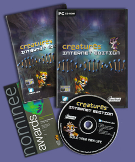 File:Creaturesinterneteditionmanualandcd.jpg