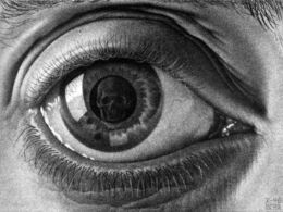 Mc escher eye