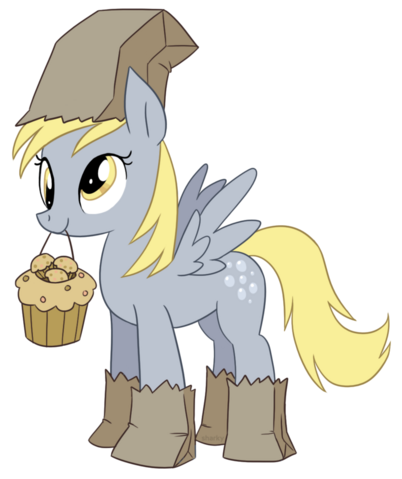 File:74989 - Paper Bags artist bizcuit costume derpy hooves muffins.png