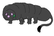 Glutton-larva