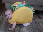 Baby-taco-costume