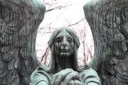 Grave stone angel by vampiko