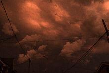 Dark-red-sky