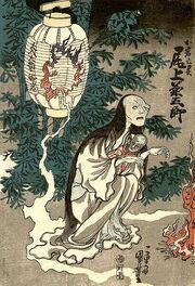 409px-Kuniyoshi oiwa