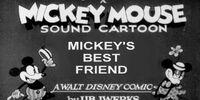 Mickey's Best Friend