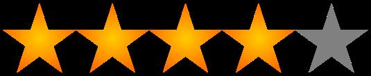 Resultado de imagen para 4 estrellas png