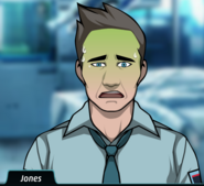 Jones disgusted