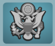 Army Cap Badge male