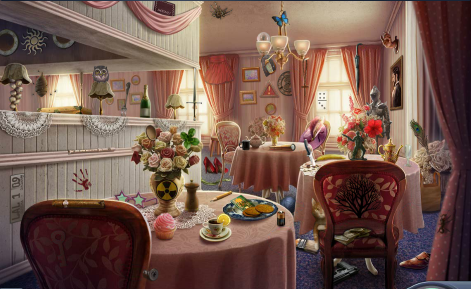 Image 3 tea criminal case wiki fandom for Tea room design quarter