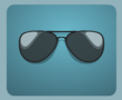 Black Aviator Sunglasses male