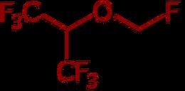 Sevoflurane Structure