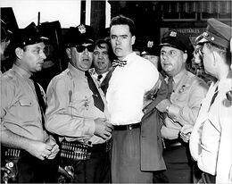 Unruh's arrest